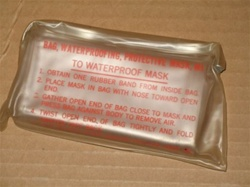 M1 Gas Mask Waterproofing Bag kit