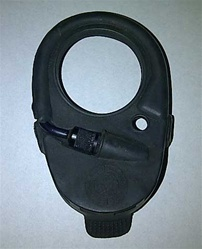 U.S. M17A1 Gas Mask Voicemitter Outlet Cover, M17A2 Gas Mask Voicemitter Outlet Cover