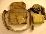 WWI Corrected English Model (C.E. Mask) Gas Mask Set - US Army