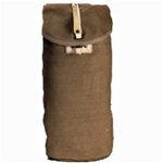 French Khaki Gas Mask Carrier