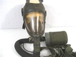U.S. Army M14A2 Tank Gas Mask w/Carry Bag and Filter Canister
