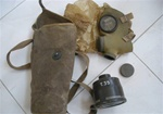 1940 Italian Army T.35 Gas Mask