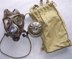 Iraqi Army M85 Gas Mask with Filter