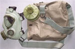 Serbian M2 Gas Mask with filter and carrier