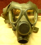 Iraqi Army M85 Gas Mask and Carrier