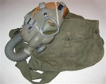 Unissued U.S. Army Lightweight Service Gas Mask M4-10A1-6.