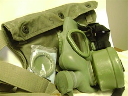 Iraqi Army M-59 Gas Mask