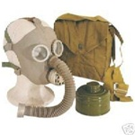 Soviet PDF-D Civilian/Child Gas Mask Kit