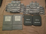 Point Blank Body Armour Army side plates and carriers