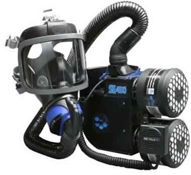 Se400at 2 Sea Scott Full Face Gas Mask Papr Respirator