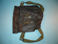 Militaria Collector's Item, Authentic D-Day Waterproof Gas Mask Bag