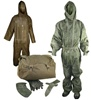 Czech Army NBC Chemical Suit Set with Carry Bag