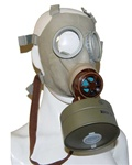 Czech Military CM-3 Gas Mask, Filter, Carry Bag (rare Model Z from Cold War)