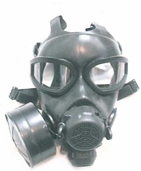 U.S. Military M45 Gas Mask, NBC Filter and Carrier