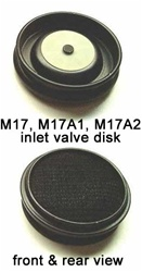 Inlet Valve Disk for M17 Series Gas Masks