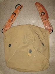 WWII M4 Carry Bag for Horse Gas Mask - Very Rare