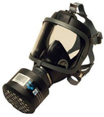 SEA Scott Full Face Gas Mask Respirator