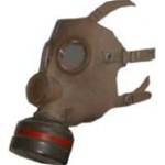 M-51 CBB French / Belgium WWII Gas Mask with Standard NATO Filter