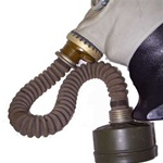 Russian Soviet Gas Mask 40mm GP-5 Hose Adapter