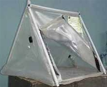 Protective Shelter With Filter