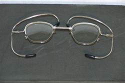 Optical Inserts for M17 Gas Masks - Metal Eye Glass Frames