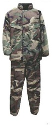 Army Camo Chemical NBC protective carbon suit Kit