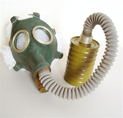 Russian USSR military gas mask GP-4